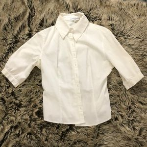 Anne Fontaine blouse 3 quarter sleeve